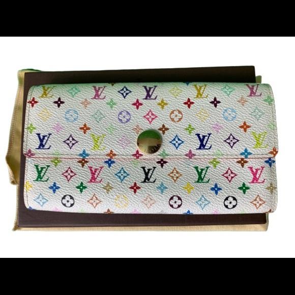 Louis Vuitton Handbags - EUC Louis Vuitton Multicolor Wallet